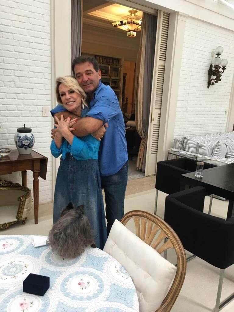 casamento ana maria braga2 - Ana Maria Braga casa-se no civil: veja as fotos