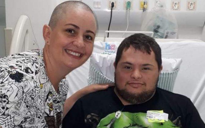 """lucas3 31 01 20 670x420 1 - Rapaz com Síndrome de Down supera câncer e """"vira"""" policial em Anápolis(GO)"""