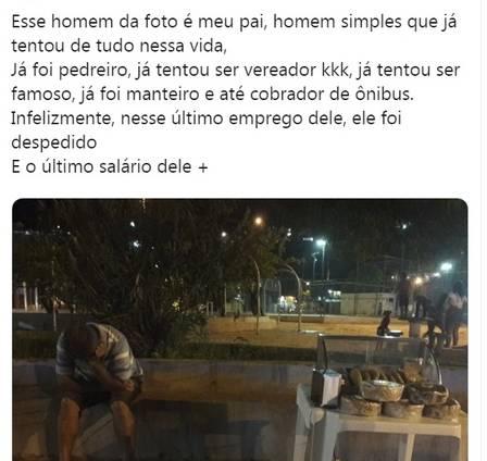 xsalgado1.jpg.pagespeed.ic .3TtxOpimiU - Filha postou foto do pai chateado por não vender nenhum salgadinho, imagem viralizou e gerou muita solidariedade