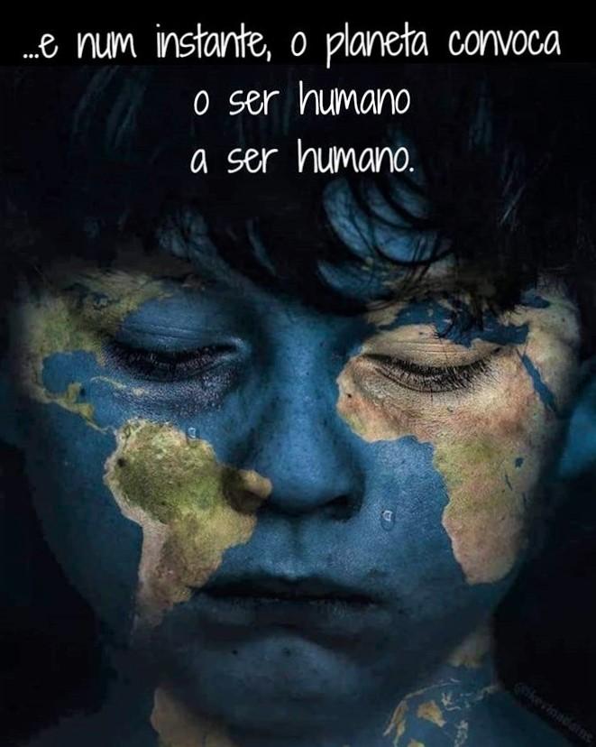 Um convite a ser humano - A parábola do Covid-19: viva a vida para ajudar outros