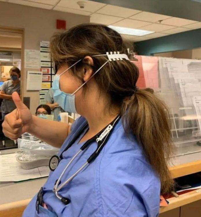 d - Garoto desenvolve acessório muito útil que protege as orelhas e diminui a dor de quem utiliza máscaras em hospitais