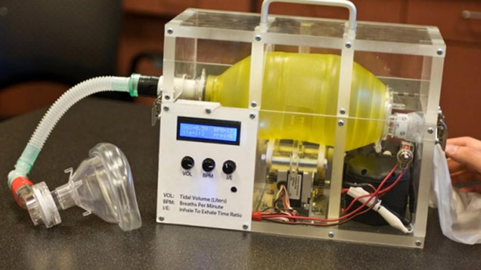 e vent 1 - Massachusetts Institute of Technology criou o ventilador mecânico com custo de US$ 100