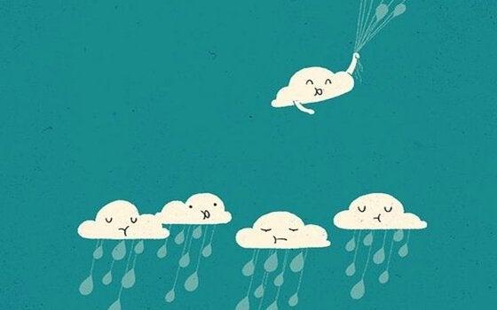 nuvole - A atitude é contagiante: vamos nos cercar daqueles que despertam o melhor de nós