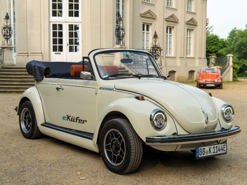 vw ebeetle - Volkswagem volta a lançar o Fusca, na versão motor elétrico