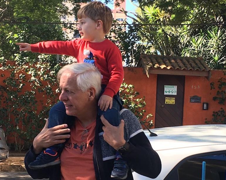 Amor de avô por neto - O amor pelos filhos é uma maravilha, mas pelos netos é duplamente maravilhoso