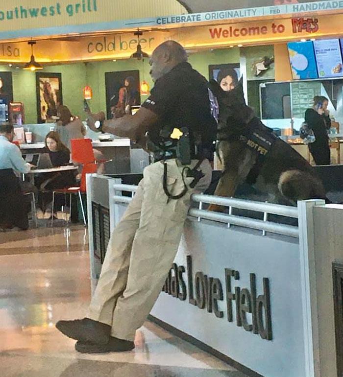1 - Policial tirando selfies com seu cão encanta a todos