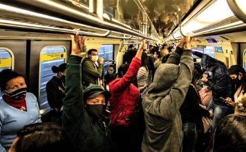 Trens metrôs e ônibus ficam lotados após restrição a carros em São Paulo Foto Reprodução 356x220 - Início