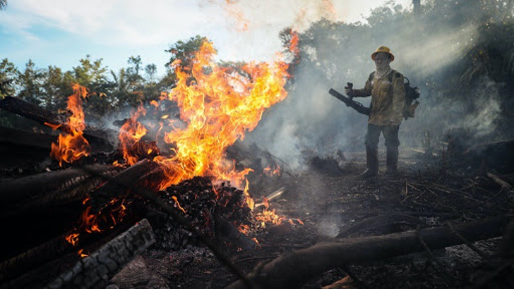 """amazonas junio incendios forestales 3 - A Amazônia """"pulmão verde"""" da América é consumido pouco a pouco."""