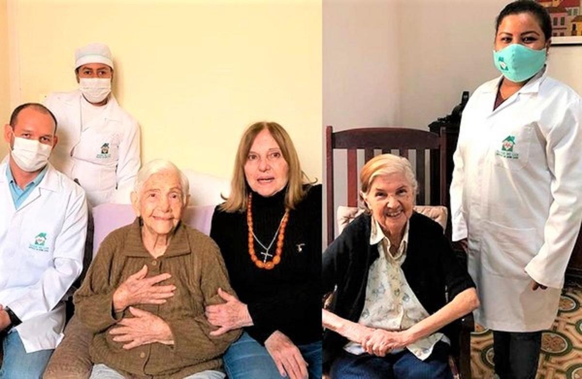 """whatsapp image 2020 07 29 at 14.41.41 1011x658 1 - Irmãs com 96 e 100 anos foram curadas juntas da covid-19 no MS: """"enquanto há vida, há esperança!"""""""