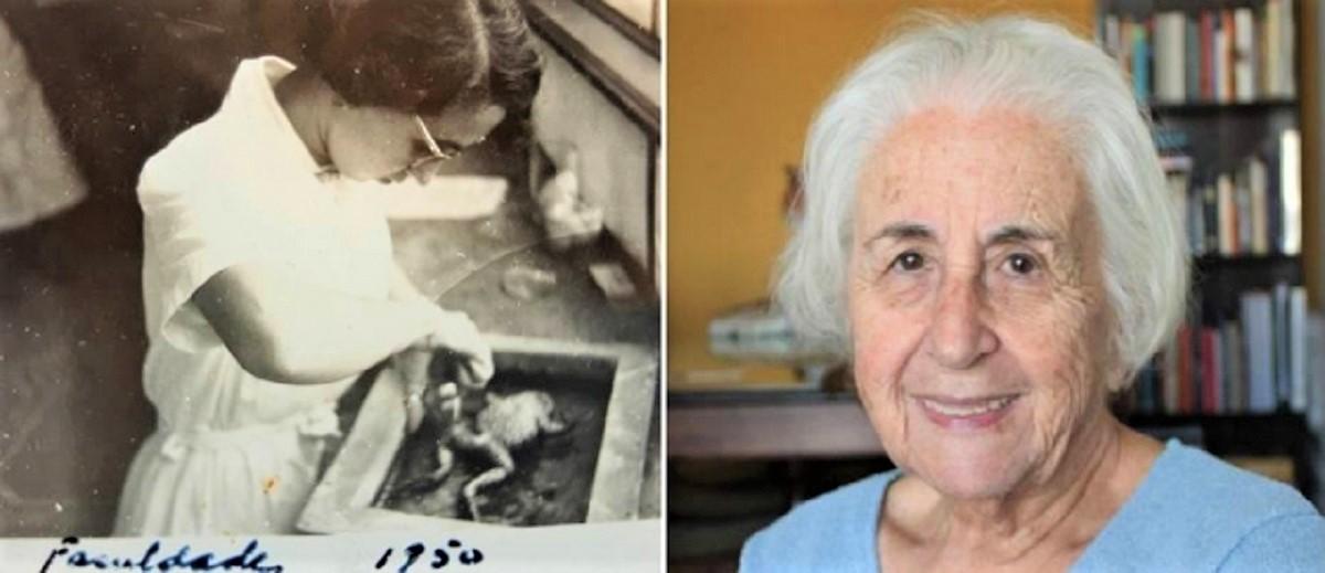 """1590171036572 - """"Sou uma jovem de 90 anos"""" diz Neuza Guerreiro após voltar a estudar"""