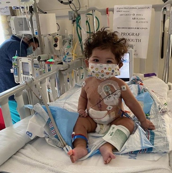 """Captura de Pantalla 2020 08 21 a las 13.38.35 - Alexandra aos 9 meses recebeu um transplante de coração: """"Foi como um raio de sol sobre todos nós"""""""