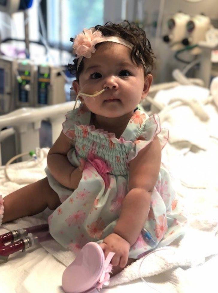 """Captura de Pantalla 2020 08 21 a las 15.04.00 - Alexandra aos 9 meses recebeu um transplante de coração: """"Foi como um raio de sol sobre todos nós"""""""