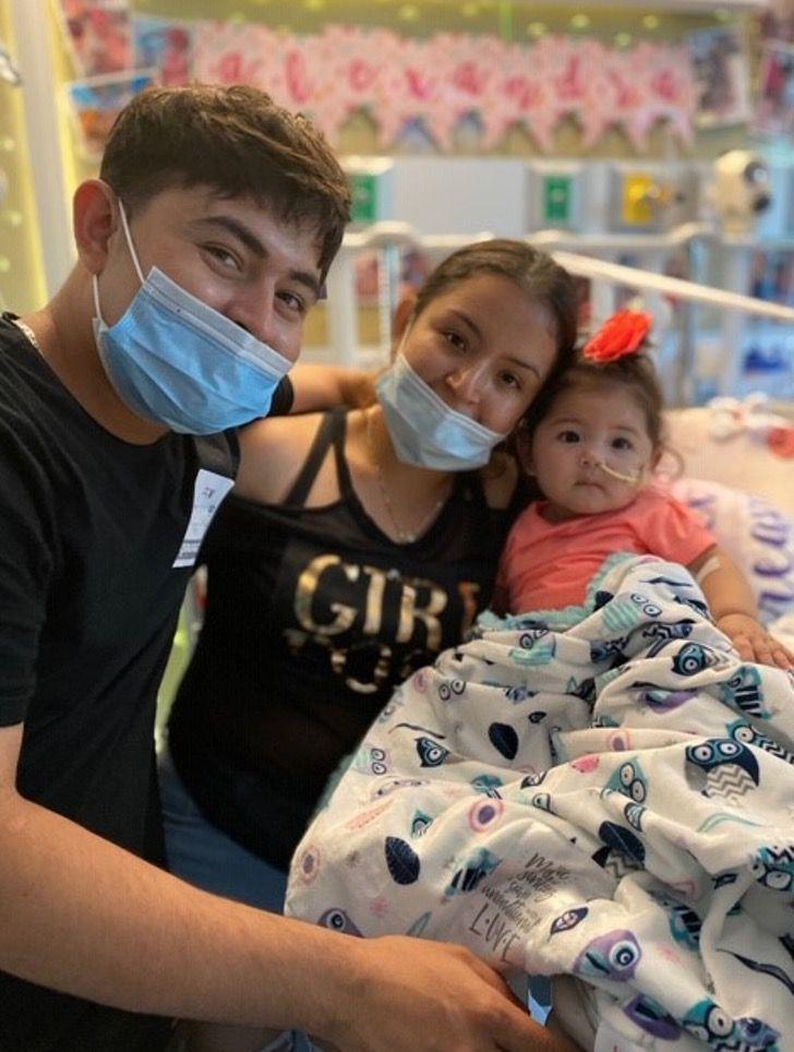 """Captura de Pantalla 2020 08 21 a las 15.04.10 - Alexandra aos 9 meses recebeu um transplante de coração: """"Foi como um raio de sol sobre todos nós"""""""