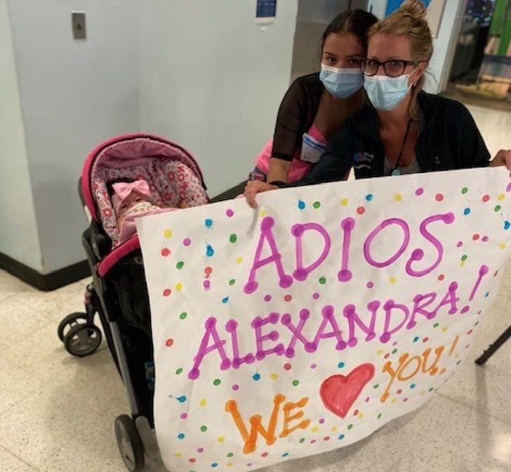 """Captura de Pantalla 2020 08 21 a las 15.04.20 - Alexandra aos 9 meses recebeu um transplante de coração: """"Foi como um raio de sol sobre todos nós"""""""