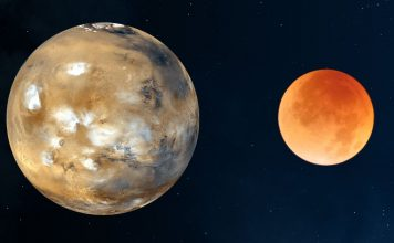 Conjunção da Lua e Marte 356x220 - Início