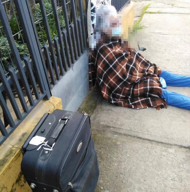 118851014 2861537710741050 4903651442309459115 n - Filha expulsa  de casa sua mãe de 88 anos na quarentena e a abandona na rua