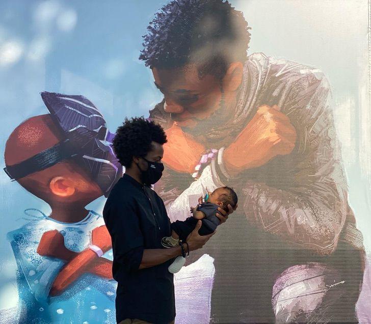Marvel disney chadwick boseman mural honor fallecimiento0001 - Belo mural em homenagem a Chadwick Boseman foi revelado na Disneylândia. Wakanda para sempre!