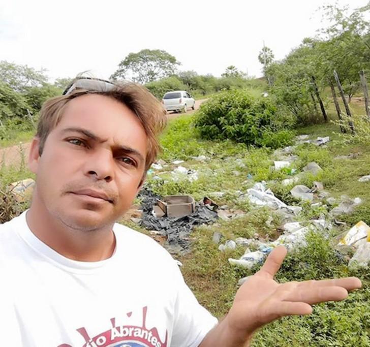 gari ecologico 1 - O varredor de rua brasileiro venceu o alcoolismo e se tornou uma celebridade da reciclagem no YouTube