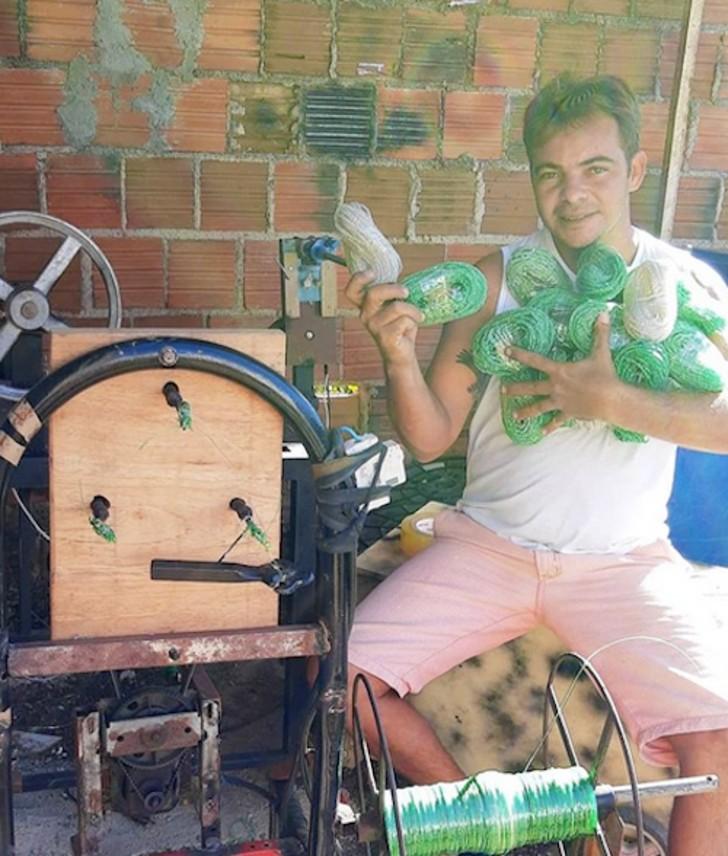 gari ecologico 4 - O varredor de rua brasileiro venceu o alcoolismo e se tornou uma celebridade da reciclagem no YouTube