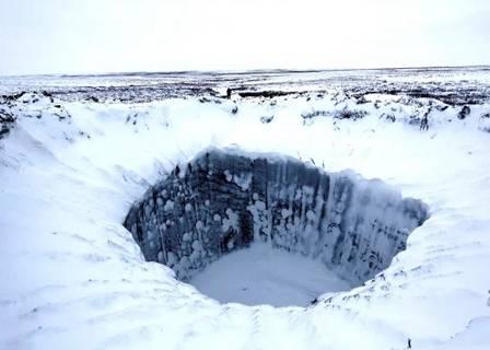 """xblog crater.jpg.pagespeed.ic . 7QKySefqn - Crateras gigantes aparecem na Rússia e intrigam os cientistas: """"Não estou pronto para divulgar"""""""