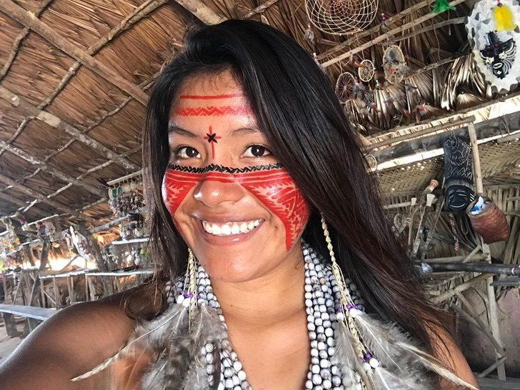 101425647 200738177702398 4776879314948591318 n - Jovem indígena se torna uma influenciadora do TikTok e mostra sua cultura para o mundo. Orgulho da Amazônia