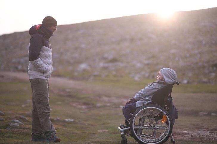 5 - Marios Giannakou realiza o sonho de mulher com deficiência.
