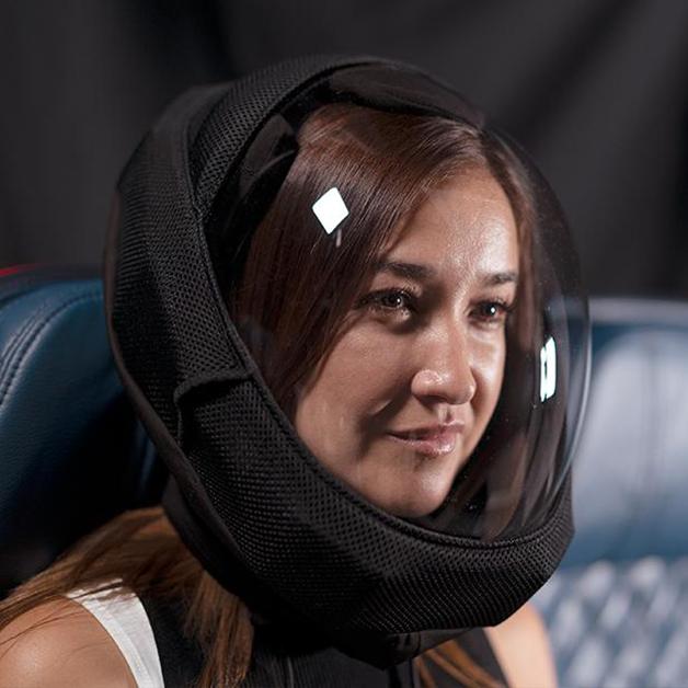 6b1d4a6d edit air capacete 03 - Desenhista criou capacete que protege da Covid-19 e tem ventilação