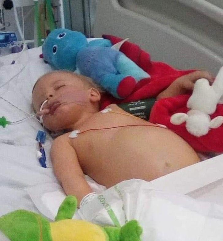 Captura de Pantalla 2020 10 14 a las 10.42.49 - Reign Miller encontra um doador de medula dias após seu primeiro aniversário