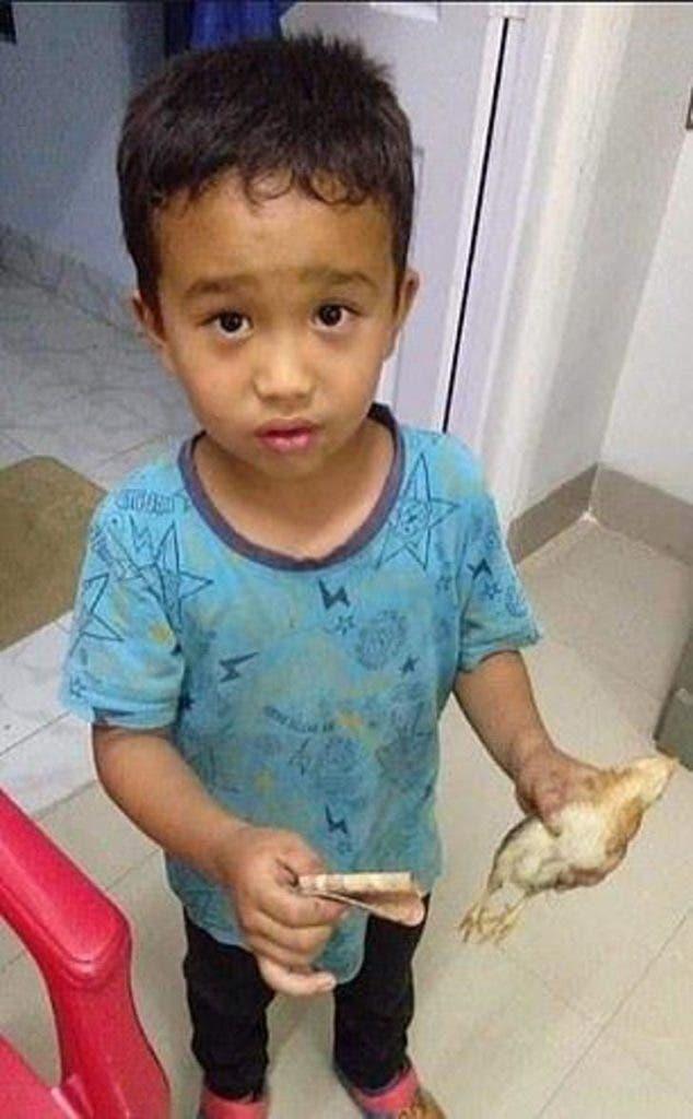 Menino e o pintinho no hospital - Garotinho atropelou um pintinho com sua bicicleta. Veja o que ele fez!