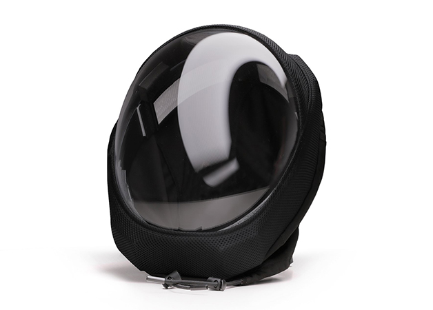 ba4470c0 edit air capacete 02 - Desenhista criou capacete que protege da Covid-19 e tem ventilação