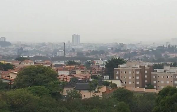 chuva sorocaba - Depois de temperaturas elevadíssimas, fortes chuvas são registradas em São Paulo