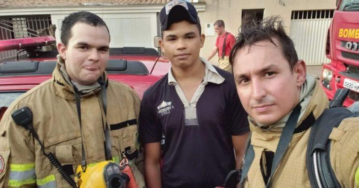 incendio jovem capa 1068x561 1 - Adolescente de 17 anos salva uma mulher e seus dois filhos.
