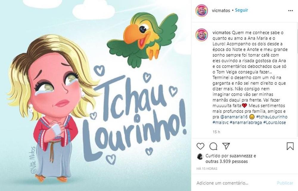 11 - Fãs do eterno Louro José fazem homenagens a Tom Veiga nas Redes Sociais
