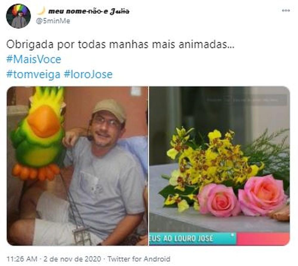 15 - Fãs do eterno Louro José fazem homenagens a Tom Veiga nas Redes Sociais