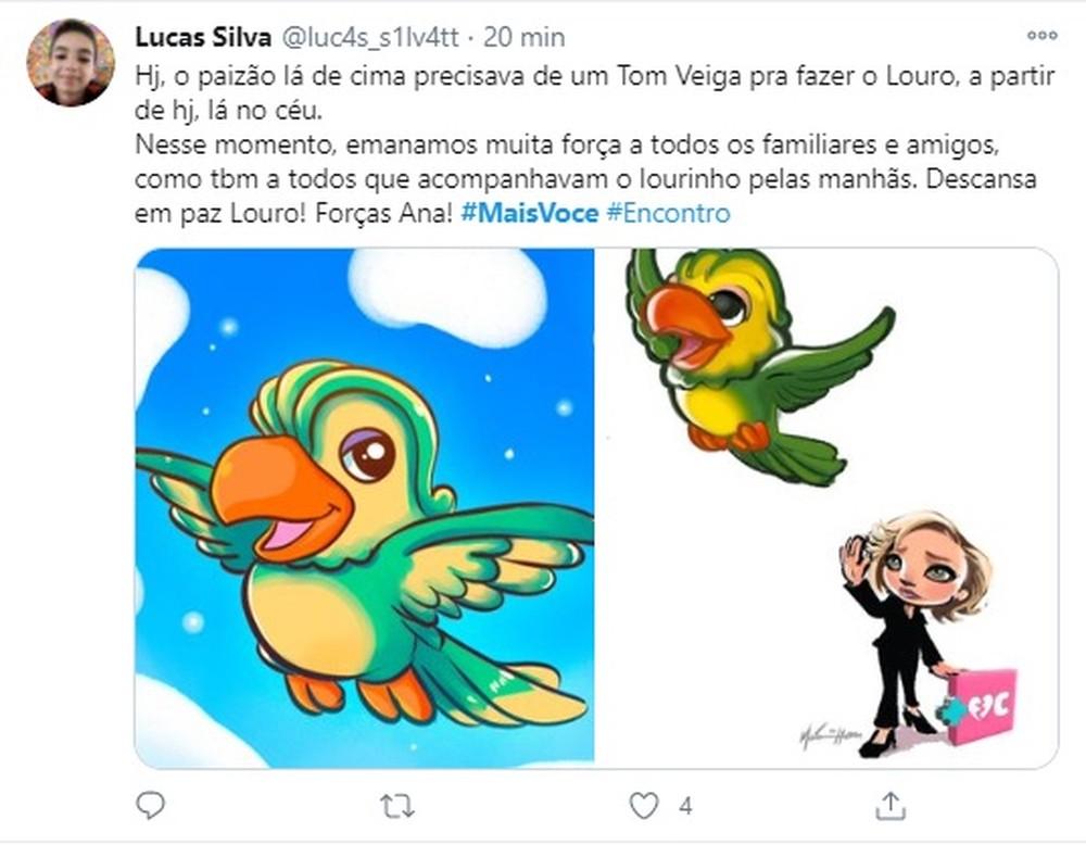 2 1 - Fãs do eterno Louro José fazem homenagens a Tom Veiga nas Redes Sociais