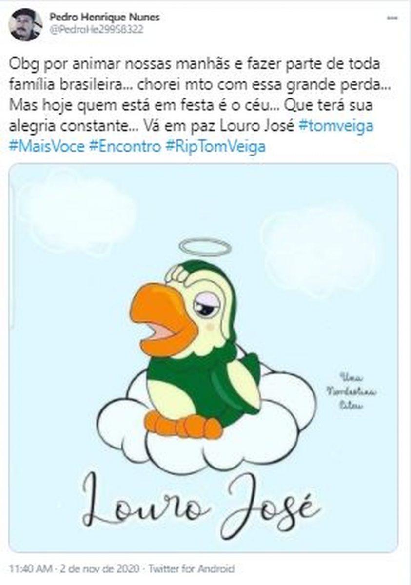 3 1 scaled - Fãs do eterno Louro José fazem homenagens a Tom Veiga nas Redes Sociais