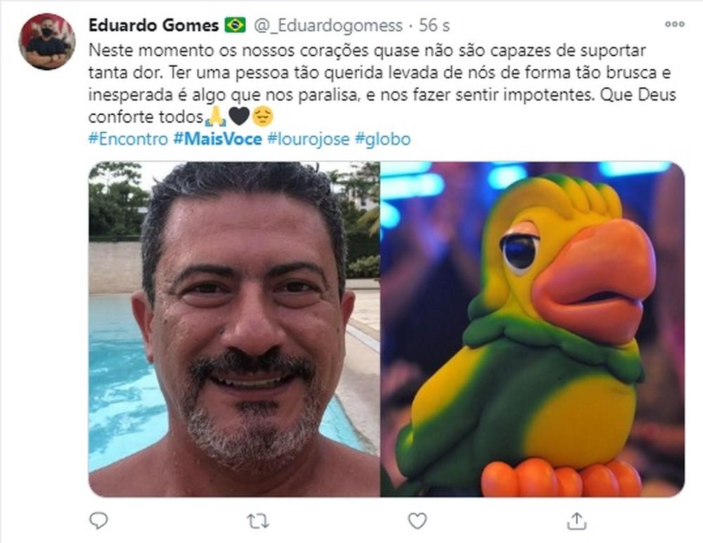 4 1 - Fãs do eterno Louro José fazem homenagens a Tom Veiga nas Redes Sociais