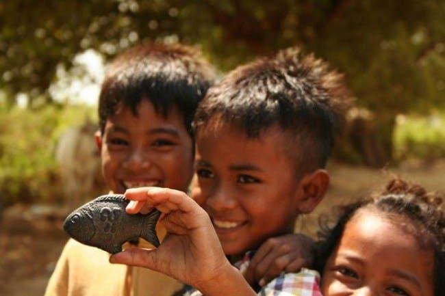 4 2 - Este peixinho de ferro está salvando a vida de milhares de crianças