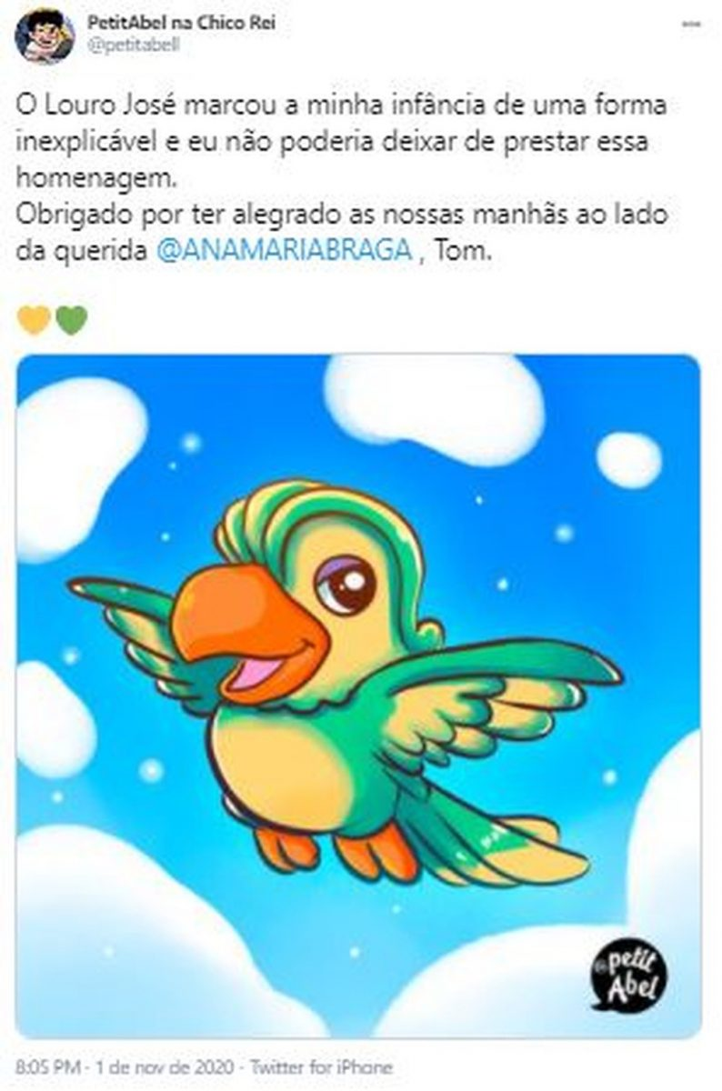 7 scaled - Fãs do eterno Louro José fazem homenagens a Tom Veiga nas Redes Sociais