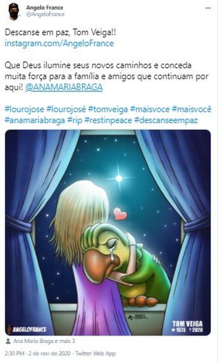 9 scaled - Fãs do eterno Louro José fazem homenagens a Tom Veiga nas Redes Sociais