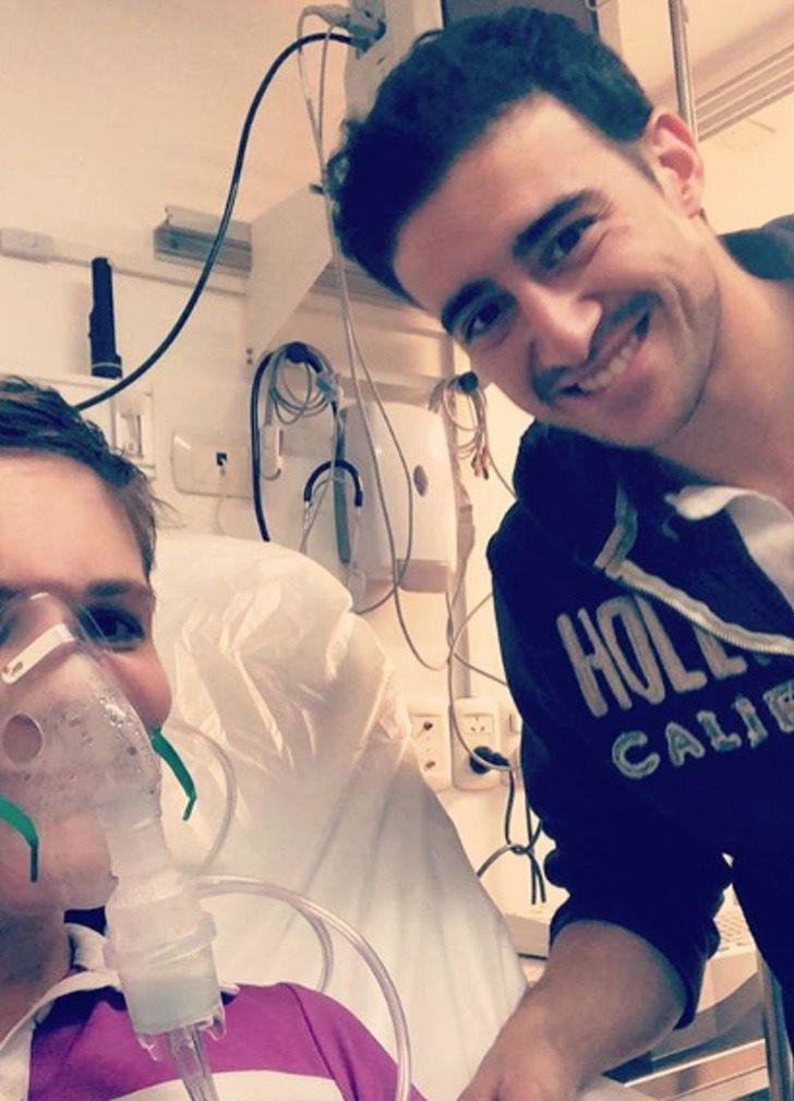 Captura de Pantalla 2020 11 16 a las 17.23.29 - Eles se conheceram no hospital, se apaixonaram e venceram o câncer juntos. O amor deles era mais forte