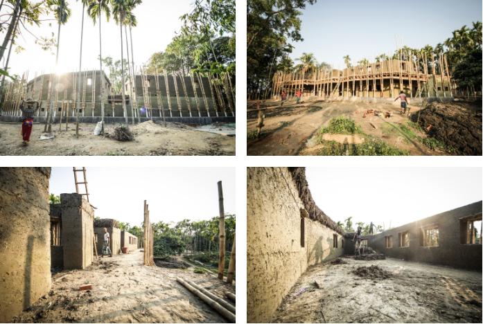 Captura de Tela 122 - Mulheres indianas construíram um centro para pessoas com deficiência apenas com bambu e barro.
