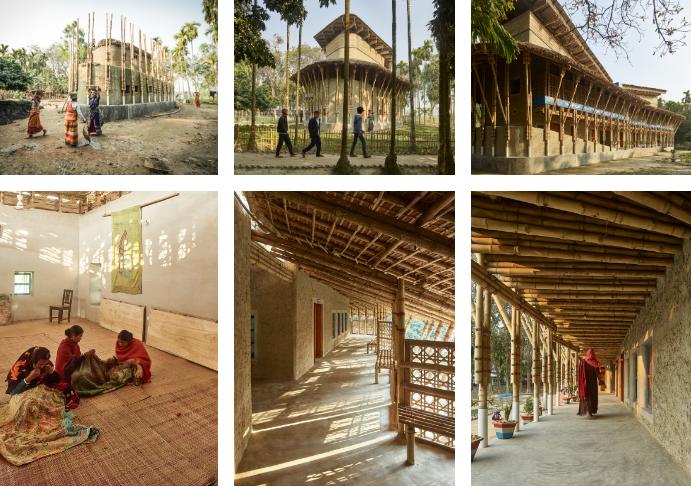 Captura de Tela 124 - Mulheres indianas construíram um centro para pessoas com deficiência apenas com bambu e barro.