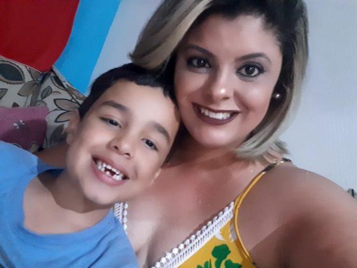 adrieli diogo vinicius3 560x420 1 - Madrasta adota enteado com autismo que foi rejeitado por sua mãe biológica