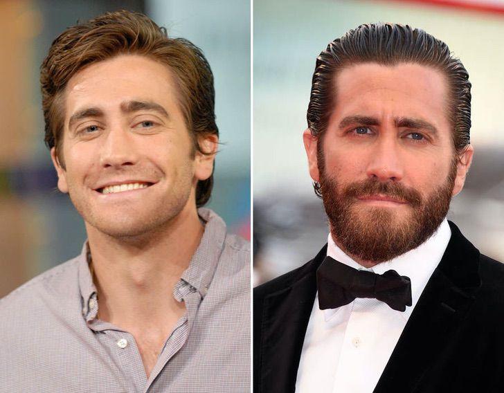 1 4 - 12 homens famosos que parecem irreconhecíveis sem uma barba. Jason Momoa parece outra pessoa