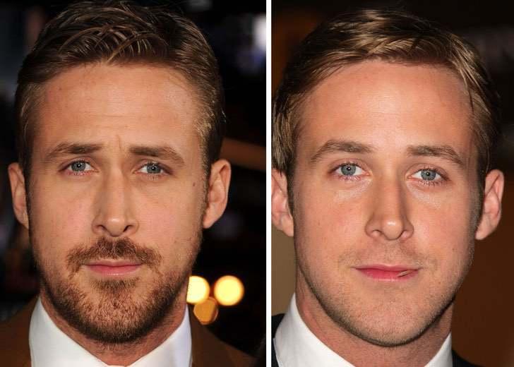 6 - 12 homens famosos que parecem irreconhecíveis sem uma barba. Jason Momoa parece outra pessoa