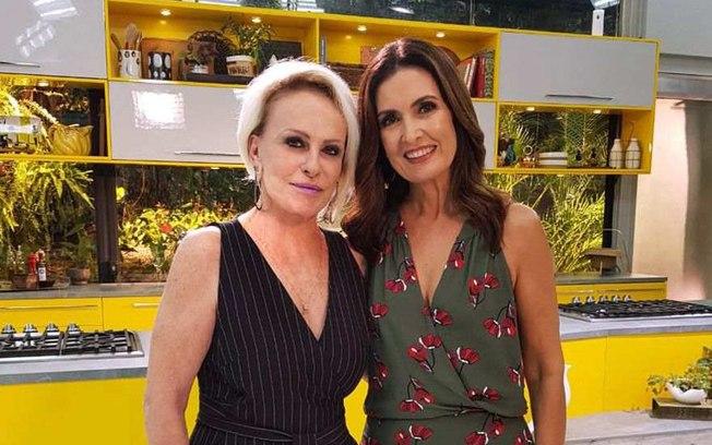 """bjmxhqo0h9v5wxoe6shcyeeo3 - Ana Maria Braga se comove ao mandar recado para Fátima Bernardes: """"Você é Forte"""""""