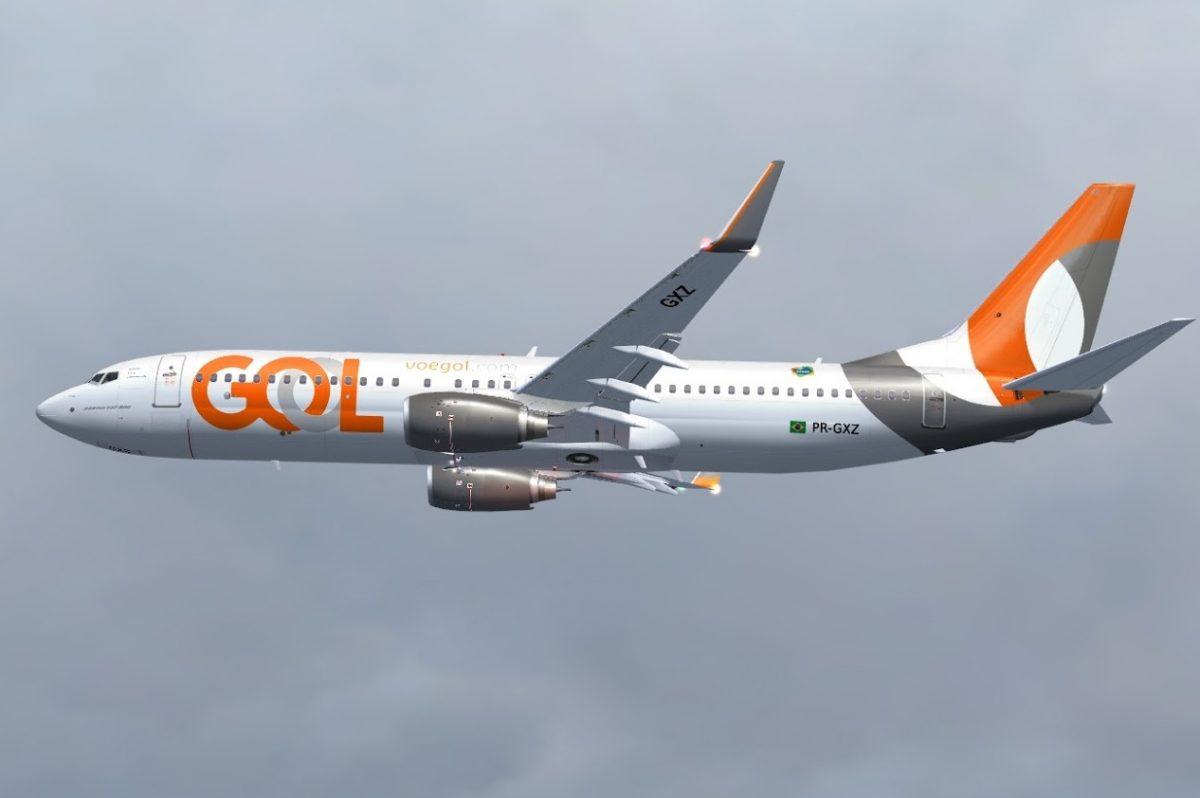 Boeing 737 800 Gol 16 Copia scaled - Avião que transportava vacinas da Covid-19 erra trajeto e entra em rota de colisão com aeronave da Gol
