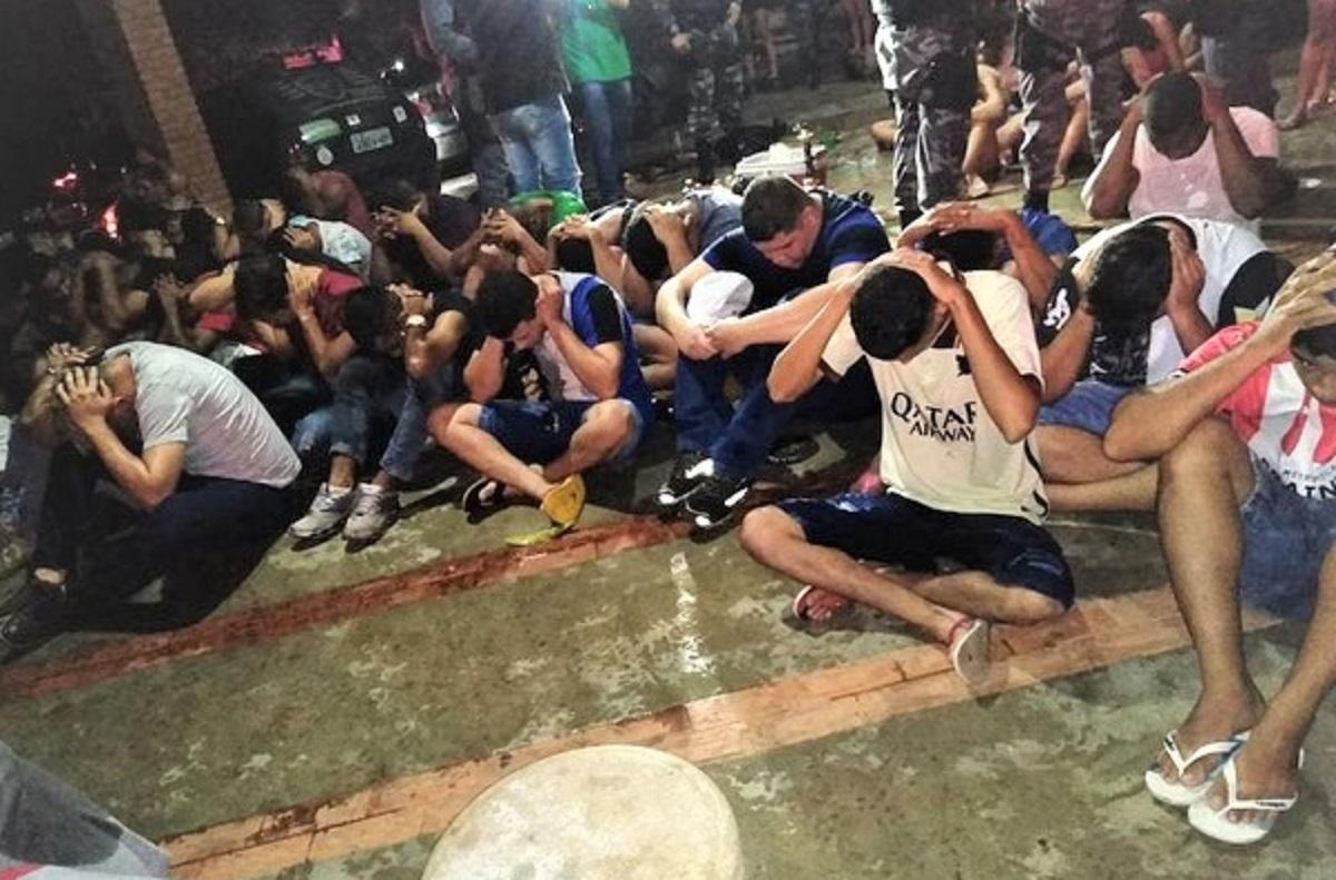 CAPA whatsapp image 2021 01 30 at 15.01.30 - Festa feita por uma influencer que aglomerou 300 jovens sem máscaras é FECHADA pela PM em MT