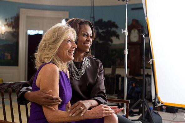 "Captura de Tela 449 - ""Eu quero que o povo valorize os professores"" diz Jill Biden que é doutora e primeira-dama americana"